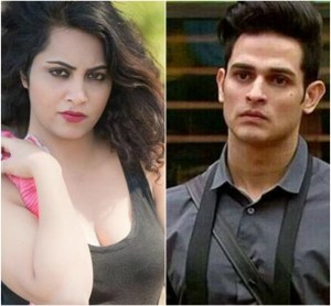 Arshi and Priyank Bigg Boss 11