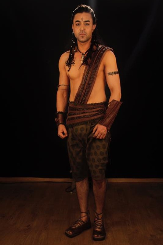 Mohit Abrol as Hasti in Porus