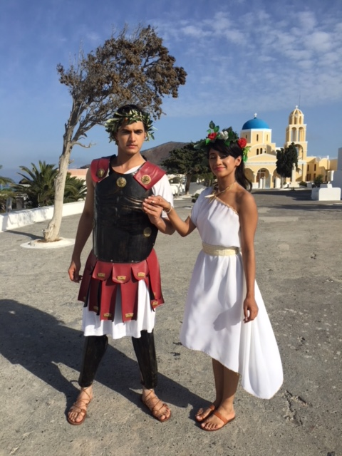 Mohsin Khan & Shivangi Joshi enjoy in Greece