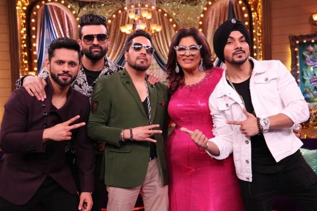 Rahul Vaidya, Navraj Hans, Mika Singh, Auntyji Archana Puran Singh & Gurdeep Mehendi