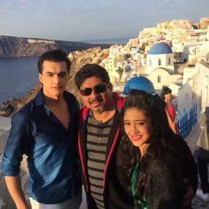 Rajan Shahi, Shivangi Joshi & Mohsin Singh