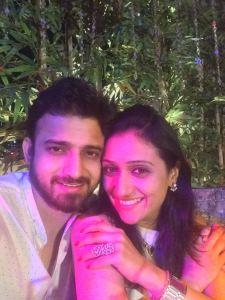Romit Raj and Wife