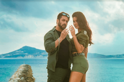 Salman Khan and Katrina Kaif in a still from Tiger Zinda Hai