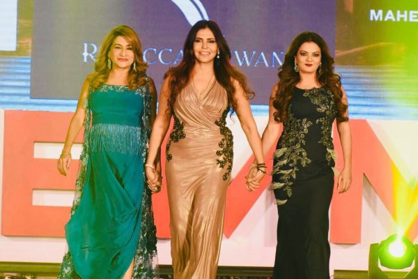 Sheeba walks the ramp