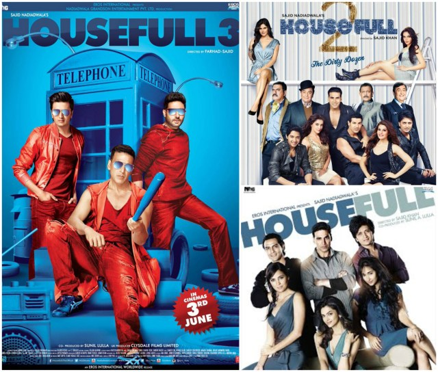 Housefull Movie Posters