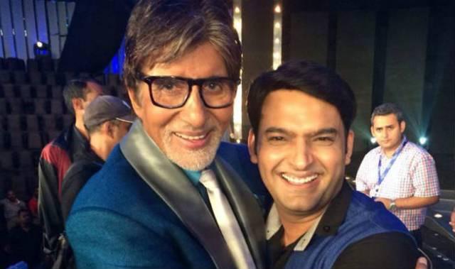 Kapil Sharma and Amitabh Bachchan