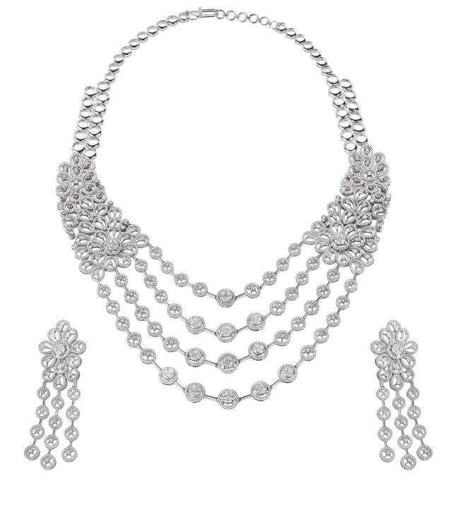 Tanishq Rivaah Diamond Set