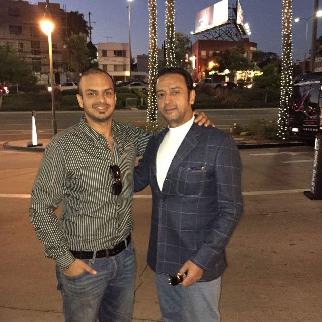Gulshan Grover & Sanjay Grover