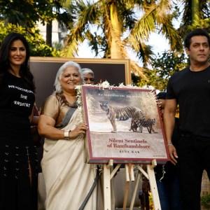 Katrina Kaif, Bina Kak & Salman Khan