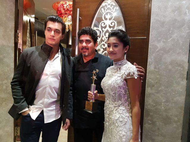 Rajan Shahi, Mohsin Khan & Shivangi Joshi (2)