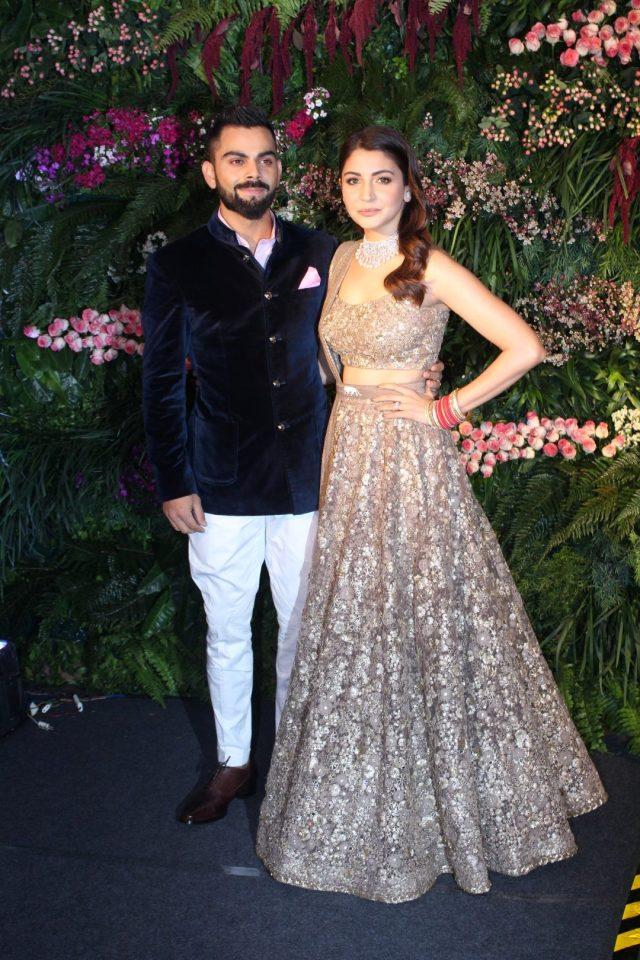 From Shah Rukh Khan To Dhoni- Celebs Who Attended Virat Kohli & Anushka Sharma's Reception