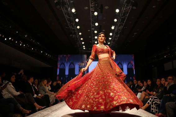 A Sulakshana Monga collection from Dream Diamonds Delhi Times Fashion Week