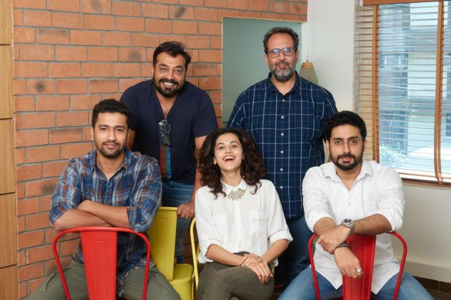 Aanand L Rai And Anurag Kashyap Join Hands Again For Manmarziyaan