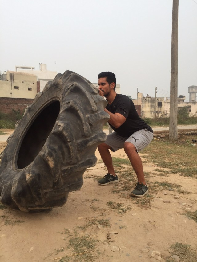 Angad Bedi Training in the Akhada