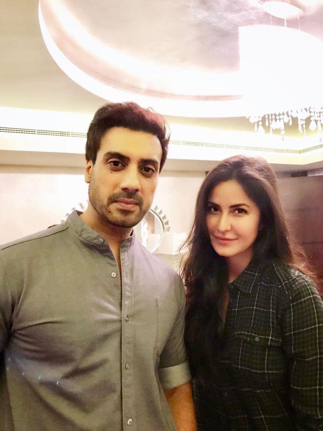 Gavie Chahal with Katrina Kaif