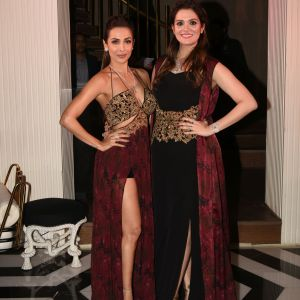 Malaika Arora Khan with Rebecca Dewan