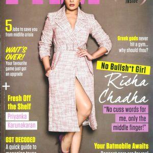 Richa Chadha- FHM Cover