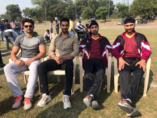 Angad And Diljit Bond With Their Real-Life Avatars For Soorma!