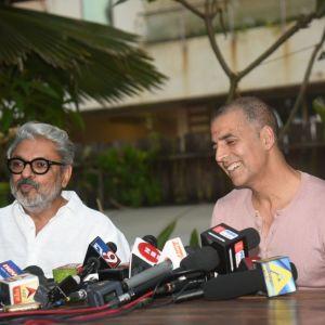 Akshay Kumar and Sanjay Leela Bhansali