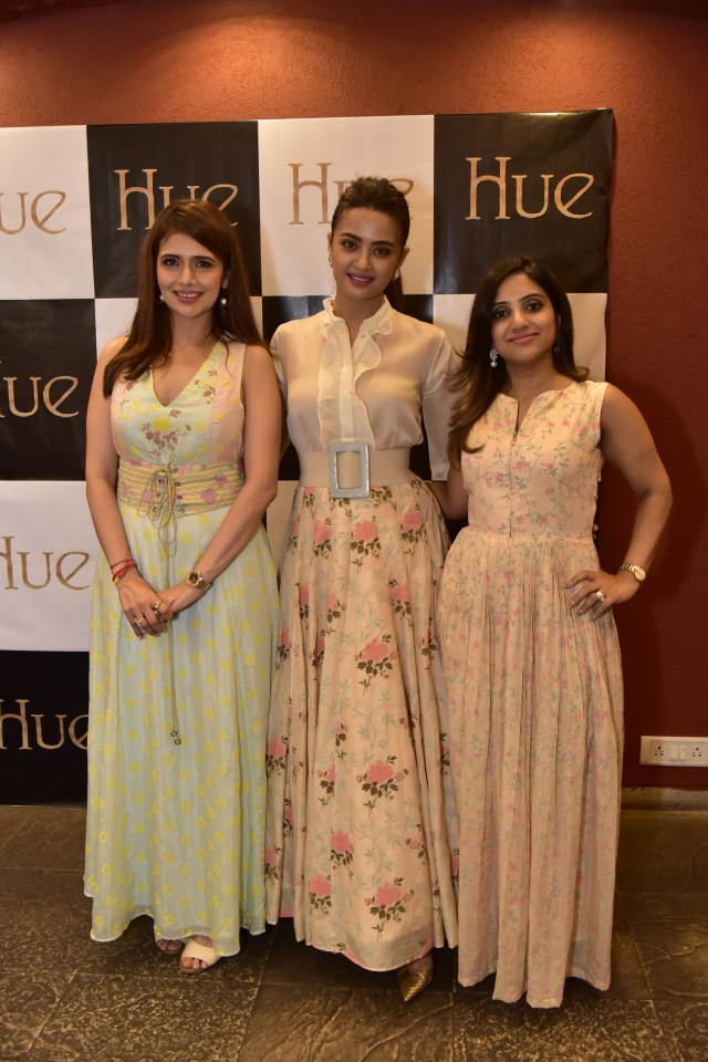 Shruti Sancheti, Surveen Chawla and Mahima Sayani