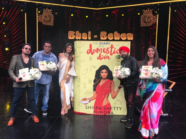 Shilpa Shetty Kundra Launched The Diary Of A Domestic Diva On Her