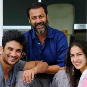 Abhishek Kapoor, Sara Ali Khan and Sushant Singh Rajput