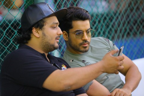 2. Zeeshan Siddique with Gautam Gulati during BOC (BOWL OUT XERIES 2018 ) ABG_2102