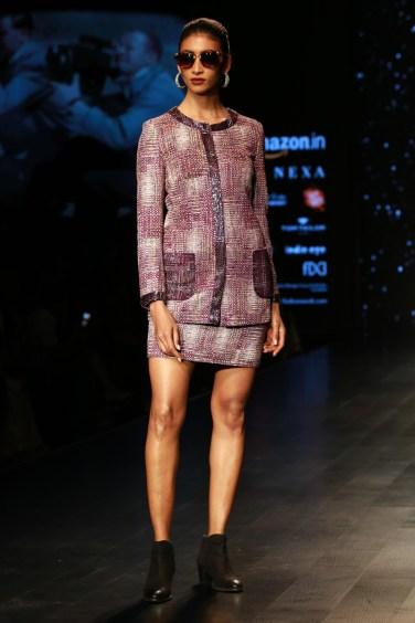 Adarsh Gill Amazon India Fashion Week 2018 (5)