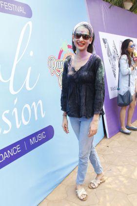Aneri Vajani @ Holi Invasion