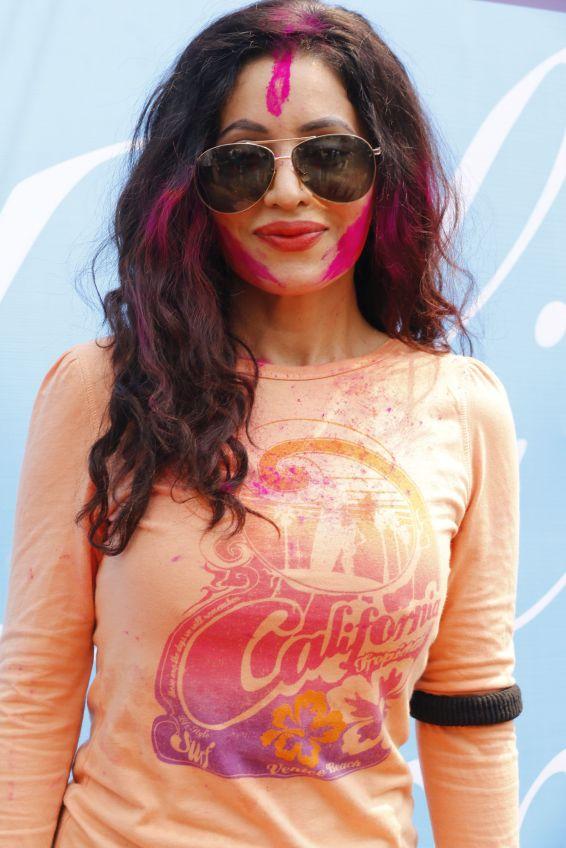 Mreenal Deshraj @ Holi Invasion (1)