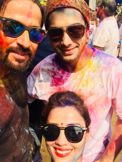 Shashank Vyas-Ssharad Malhotraa and Adaa Khan