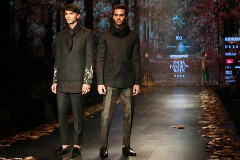 Shyamal and Bhumika Amazaon Fashion week 2018 (2)
