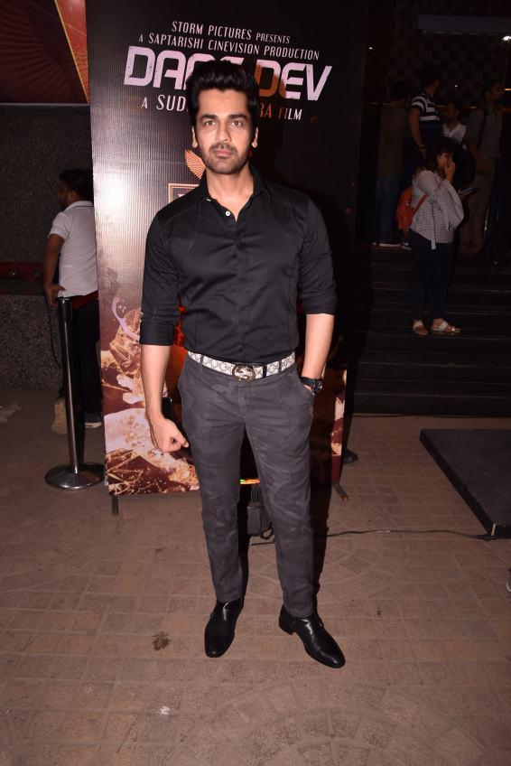 Arjan Bajwa at the Premiere of DaasDev