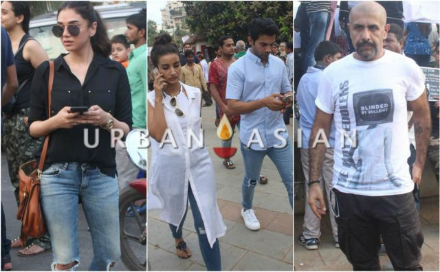 Celebs at  Justice For Asifa Peace Rally at Carter Raod Bandra