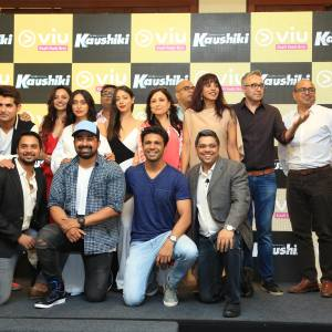 The cast and crew of Kaushiki