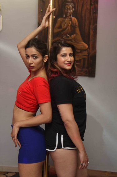 Heena Panchal with Trainer Smilie Suri5