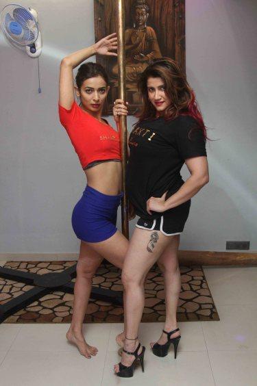 Heena Panchal and Smilie Suri