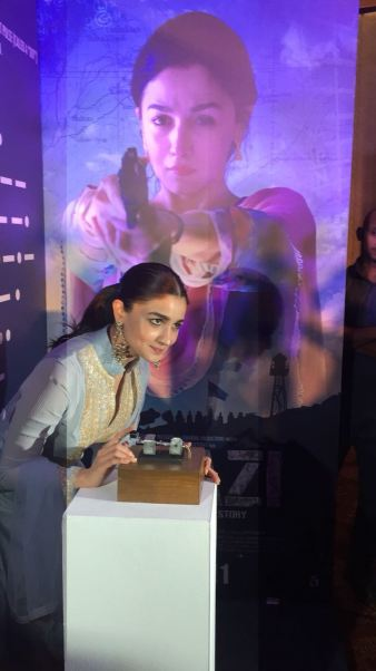 Raazi's Ae Watan song launch with Alia Bhatt, Meghna Gulzar and Vicky Kaushal (4)
