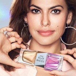Eva Mendes Is The Face Of AVON's Two-Sided Fragrance Eve Duet