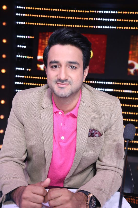 Siddharth Anand at the sets of DID Li'l Masters