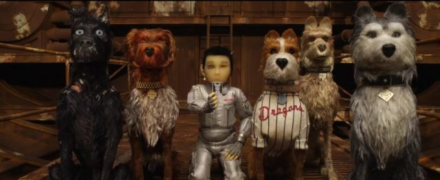 A still from Isle of Dogs
