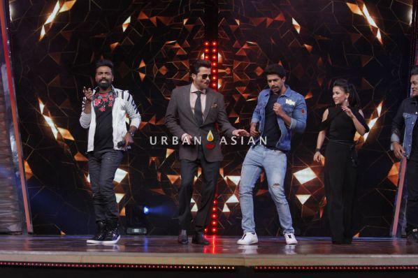 Anil Kapoor along with Remo D'souza and Saqeeb salim at the sets of DID Li'l Masters (2)