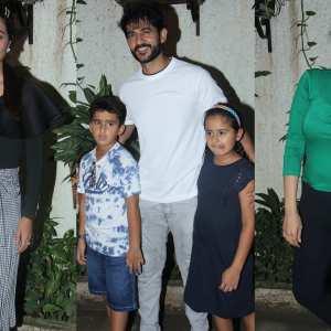 Hina Khan, Hiten Tejwani, Ragini Khanna Snapped At The Screening Of Incredibles 2