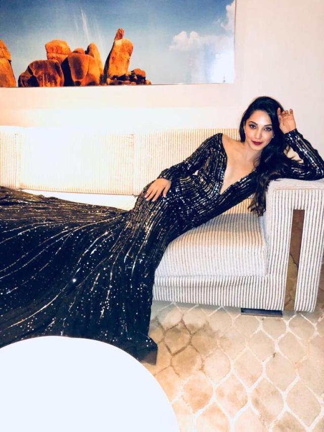 Kiara Advani slays it in a Manish Malhotra gown