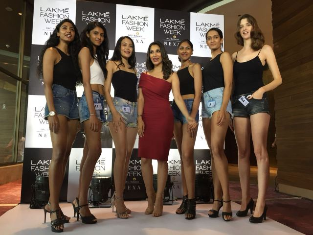 Lakme Fashion Week Winter Festival 2018 Model Audition
