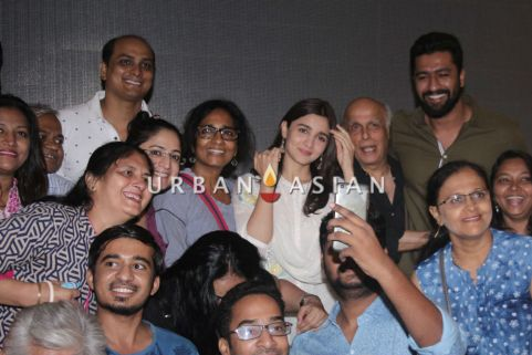 Team Raazi NGO Screening