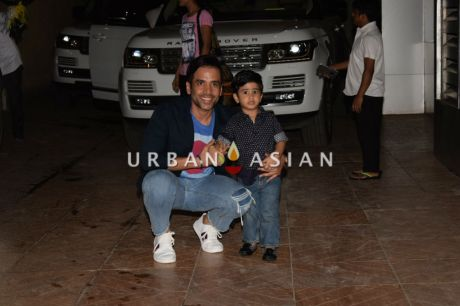 Tusshar and son 1