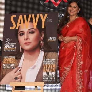 Vidya Balan at the Savvy Women Empowerment Awards 2018