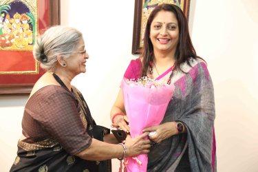 Vimala Nandkumar honours Ujjwala Haware