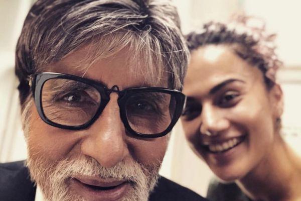 Taapsee & Amitabh Bachchan